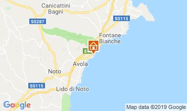 Carte Avola Villa 113727