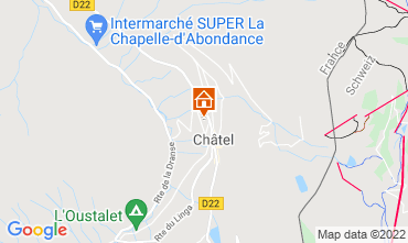 Carte Châtel Chalet 40517