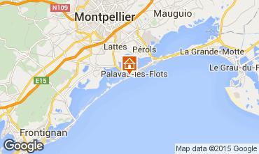 Carte Palavas-les-Flots Appartement 26554