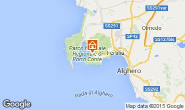 Carte Alghero Appartement 78134