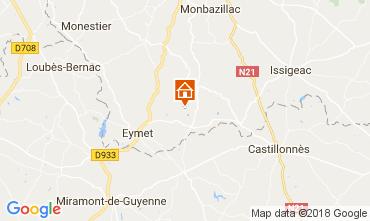 Carte Razac-d'Eymet Gite 113318