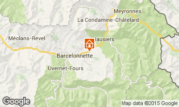 Carte Barcelonnette Chalet 96750