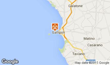 Carte Gallipoli Appartement 35841