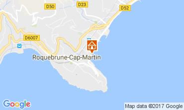 Carte Roquebrune Cap Martin Appartement 81034