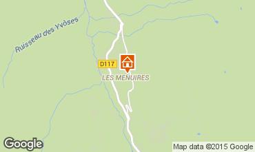 Carte Les Menuires Appartement 1631