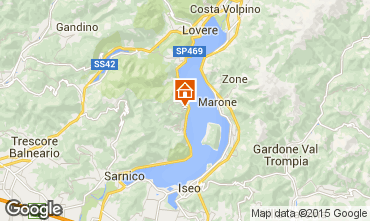 Carte Sarnico Appartement 73554