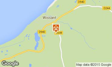 Carte Wissant Maison 87766