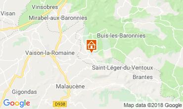 Carte Vaison la Romaine Maison 115901