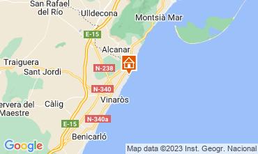 Carte Vinaroz Villa 112682