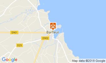 Carte Barfleur Gite 113106