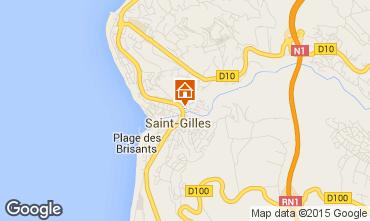 Carte Saint Gilles Studio 74488