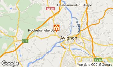 Carte Avignon Villa 76063