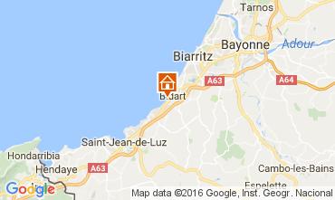 Carte Biarritz Appartement 67637