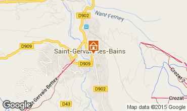 Carte Saint-Gervais-les-Bains Appartement 74408