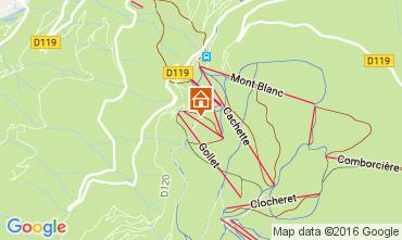 Carte Bourg saint Maurice Chalet 107561