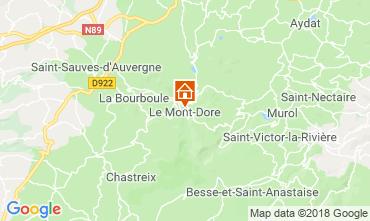 Carte Le Mont Dore Appartement 117145