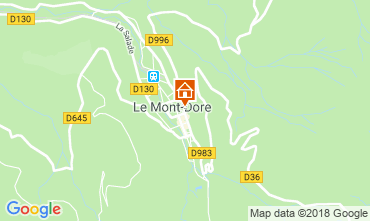 Carte Le Mont Dore Appartement 117145