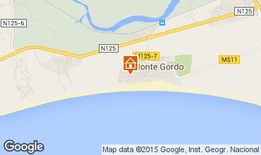 Carte Monte Gordo Appartement 80882