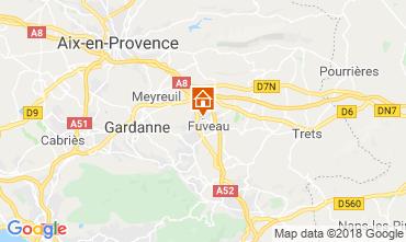 Carte Aix en Provence Villa 117062