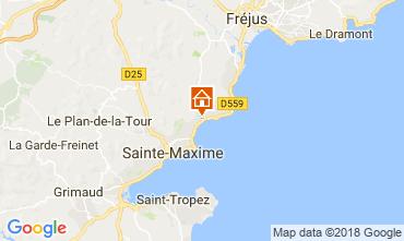 Carte Sainte Maxime Maison 111567