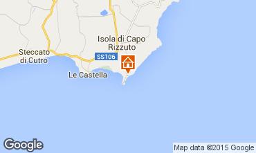 Carte Isola di Capo Rizzuto Appartement 68139