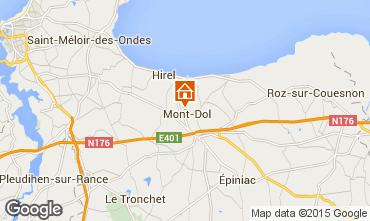 Carte Dol-de-Bretagne Gite 93043