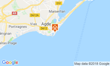 Carte Cap d'Agde Studio 103979