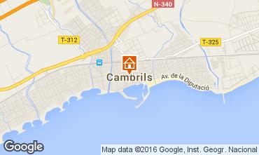 Carte Cambrils Appartement 16001