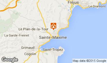 Carte Sainte Maxime Villa 85005