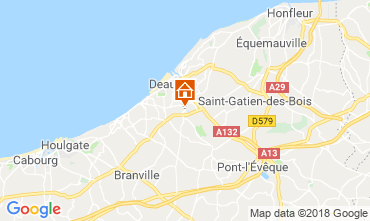 Carte Deauville Mobil-home 117426