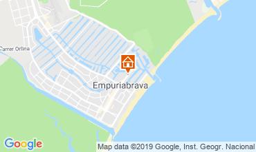 Carte Empuriabrava Appartement 118293