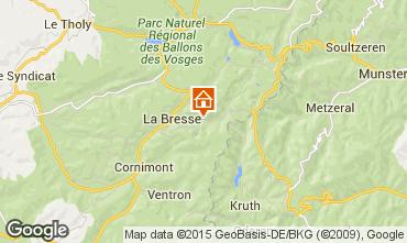 Carte La Bresse Hohneck Appartement 62238