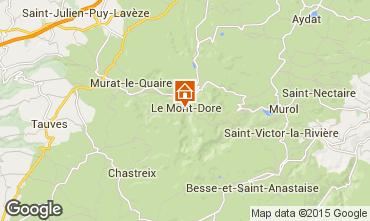 Carte Le Mont Dore Appartement 63477