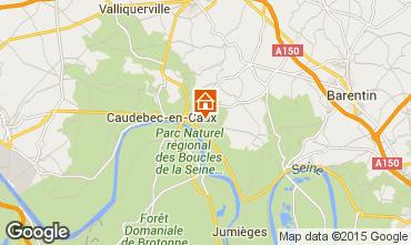Carte Saint-Wandrille-Rançon Gite 35568