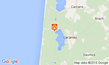 Carte Lacanau Villa 98019
