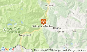 Carte Saint Lary Soulan Chalet 107164