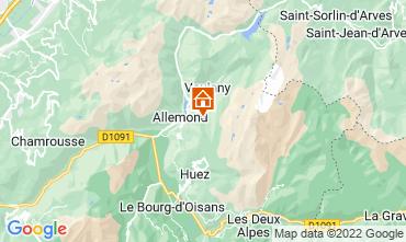 Carte Alpe d'Huez Chalet 100938