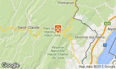 Carte Monts Jura Appartement 66236