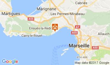 Carte Marseille Villa 108850