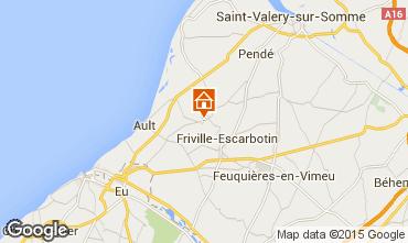 Carte Saint Valéry sur Somme Gite 56868