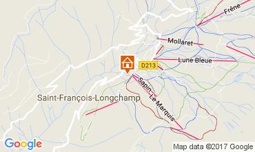 Carte Saint François Longchamp Chalet 107261