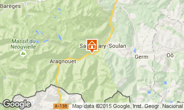 Carte Saint Lary Soulan Maison 4447