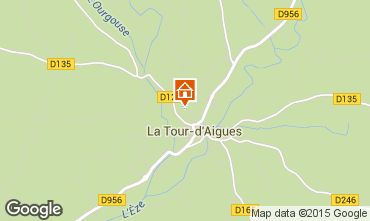 Carte La Tour d'Aigues Appartement 71869