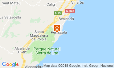 Carte Peñíscola Appartement 113614