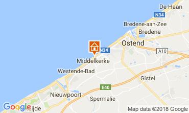 Carte Middelkerke Appartement 115900
