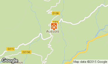 Carte Aussois Appartement 393