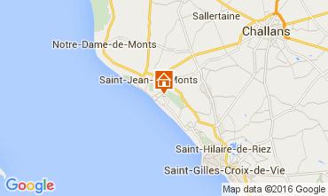 Carte Saint Jean de Monts Maison 9433