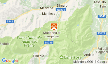 Carte Madonna di Campiglio Appartement 28711