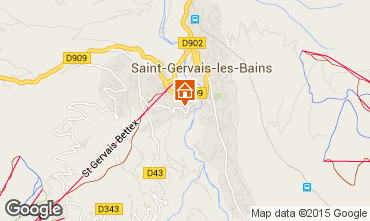 Carte Saint Gervais Mont-Blanc Appartement 15389