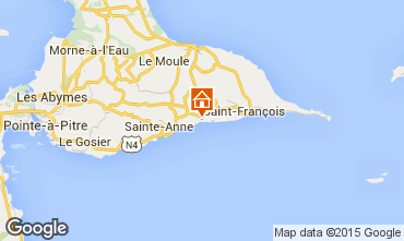 Carte Sainte Anne (Guadeloupe) Studio 101801